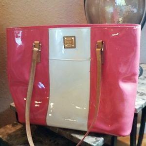 Dooney & Bourke Patent Leather Tote/Shoulder Bag